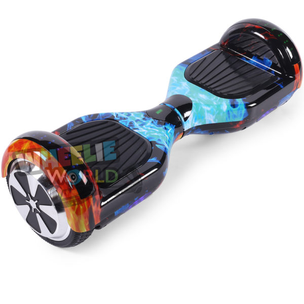 Flame Disco Hoverboard