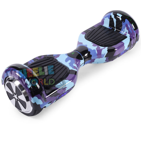 Blue Camo Disco Hoverboard